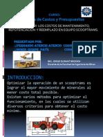 Optimizar El Costo de Operación de Equipos Trackless Scooptrams, Considerando Los Costos de Operación, Mantenimiento, Repotenciación y Reemplazo.