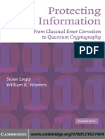 [Susan Loepp, William K. Wootters] Protecting Information