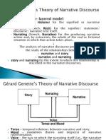 2. Narratology. Genette