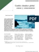 Cambio Climático PDF