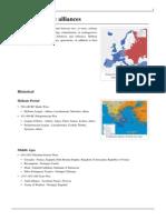 List of Military Alliances