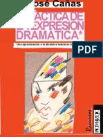 Jose Cañas Didactica de La Expresion Dramatica