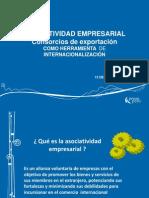 Asociatividad Empresarial Consorcios de Exportación Como Herramienta de Internacionalización