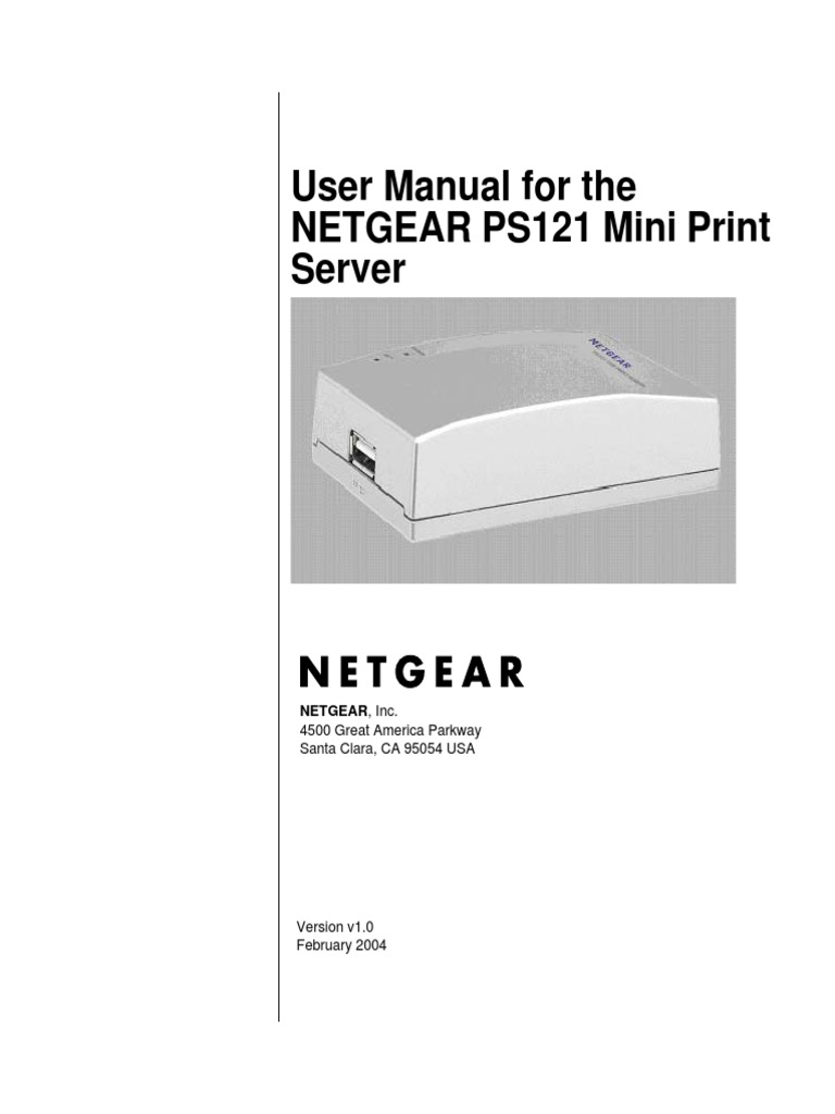 Netgear ps121 print server vista mitpebewah. Over-blog. Com.