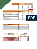 Incarcari planseu-calcul tabelar