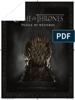 Game of Thrones Puzzle of Westeros