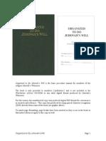 Organized To Do Jehovahs Will Pdf