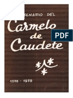 IV CENTENARIO DEL CARMELO DE CAUDETE 1578-1978