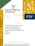 Principalele Capitole de Venituri Bugetare in Romania