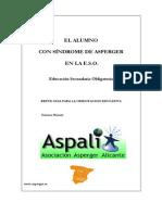 El Alumno Con Síndrome de Asperger en La e.s.o.