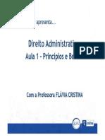 direito administrativo - Princípios e Bens