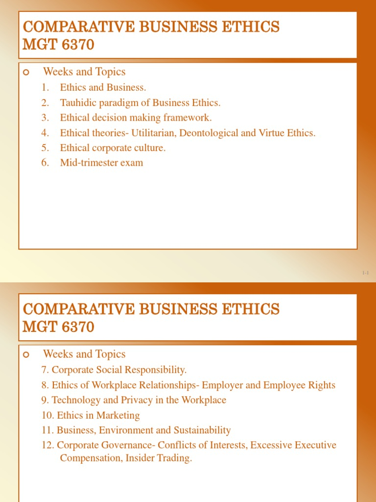 workplace relationships and ethics