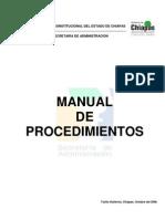 Gobierno Constitucional Del Estado de Chiapas SecretarÍa
