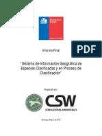 1_Sistema de Información Geográfica de Especies Clasificadas_CSW Consultores_584105-36-LE11