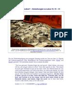 Geld oder(ewiges) Leben - Anmerkungen zu Lukas 18, 18 - 23