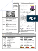 Santa Sophia Bulletin - 21 Dec 2014