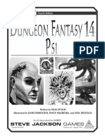 GURPS 4th - Dungeon Fantasy 14 - Psi