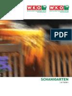 Schanigarten design