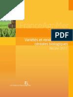 11 - Etude FAM - Vari%C3%A9t%C3%A9s Et Rendements c%C3%A9r%C3%A9ales Bio r%C3%A9c 2011