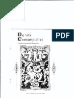 De Vita Contemplativa Year 1 - Number 2 - December 2007
