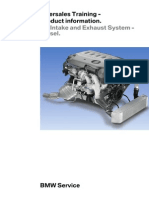 Diesel Air Intake and Exhaust System