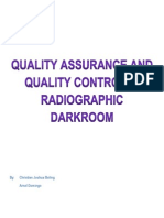 Quality Assurance and Quality Control for Darkroom (1)