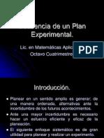 Secuencia de Un Plan Experimental