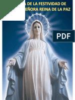 Misa a La Virgen María