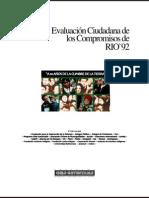 Evaluación Ciudadana Los Compromisos de RIO'92