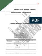 Control de Riesgos Ocupacionales