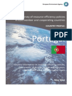 PORTUGAL Country Profile on Resource Efficiency Policies