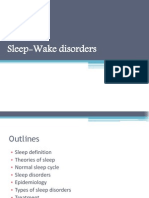 Sleep Wake Disorders