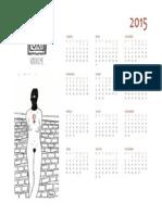 Calendário Kisuki 2015