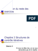 Chapitre 3 Structures de Controle Iteratives(S4)