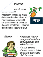 Vitamin Larut Air materi kuliah