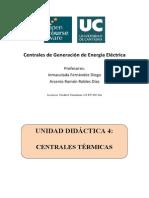Centrales de Generacion de Energia Electrica