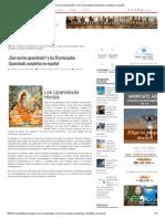¿Qué Son Los Upanishads_ y Los 10 Principales Upanishads Completos en Español