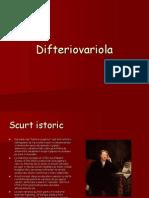 Difteriovariola