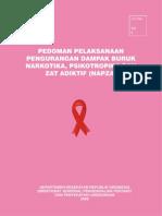 Pedoman pelaksanaan pengurangan dampak buruk narkotika, psikotropika dan zat adiktif (NAPZA).pdf