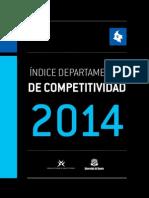 Indice Departamental de Competitividad-2014