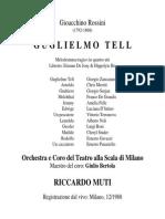 Rossini. Guglielmo Tell