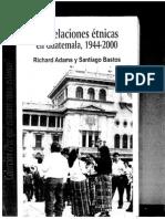 Adams y Bastos-regiones