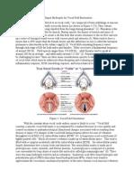 Collagen Hydrogel for Vocal Fold Restoration