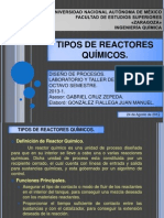 Tipos de Reactores (Presentacion)