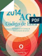 Codigo de Etica 2014 de La ACA