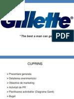 Gilette Promovare produs nou
