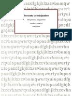 12.2 Subjuntivo, Presente