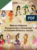 Mujeres Indigenas BC Canada Reporte CIDH