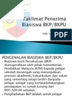 Taklimat Penerima Biasiswa BKP