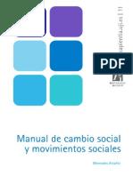 Manual de Cambio Social y Movimientos Sociales